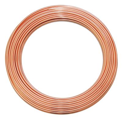 Kupferrohr 8 x 1,0 mm - 1 m Ring - Länge frei wählbar - 1
