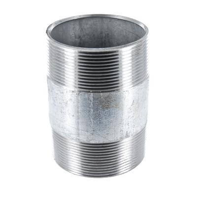 #23V Rohrdoppelnippel Stahl verzinkt - 1