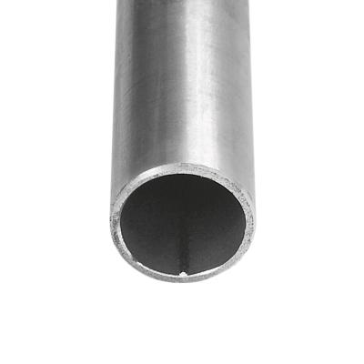 Gewinderohr / Stahlrohr - geschweißt - glatte Enden - schwarz <br /> 3/4
