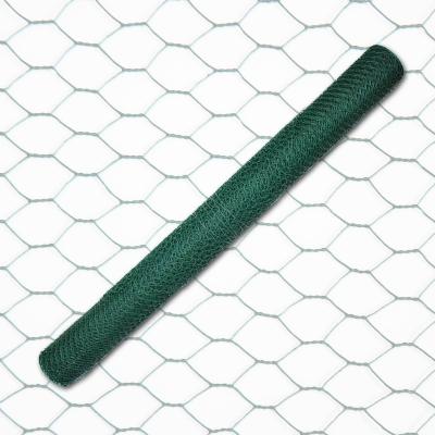 6eck Geflecht - grün - MW: 25mm - B: 1000mm - 25m Rolle - 1
