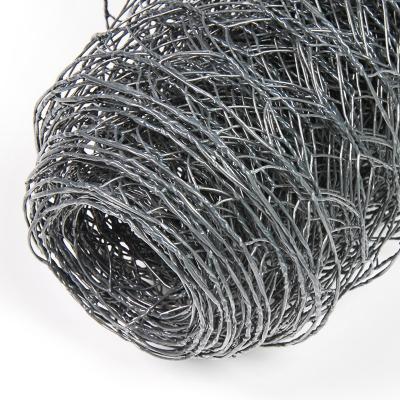 6eck Geflecht - ANTHRAZIT - MW: 25mm - B: 500mm - 10m Rolle - 1