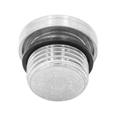VSTI - M 22x1,5 WD - Stahl verz. - Verschluss-Stopfen - Rohrverschraubung DIN 2353 - 1