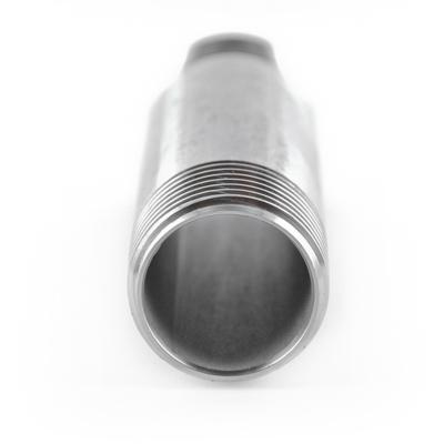 #310 V4A Rohrdoppelnippel SL aus Edelstahl - 1 1/4