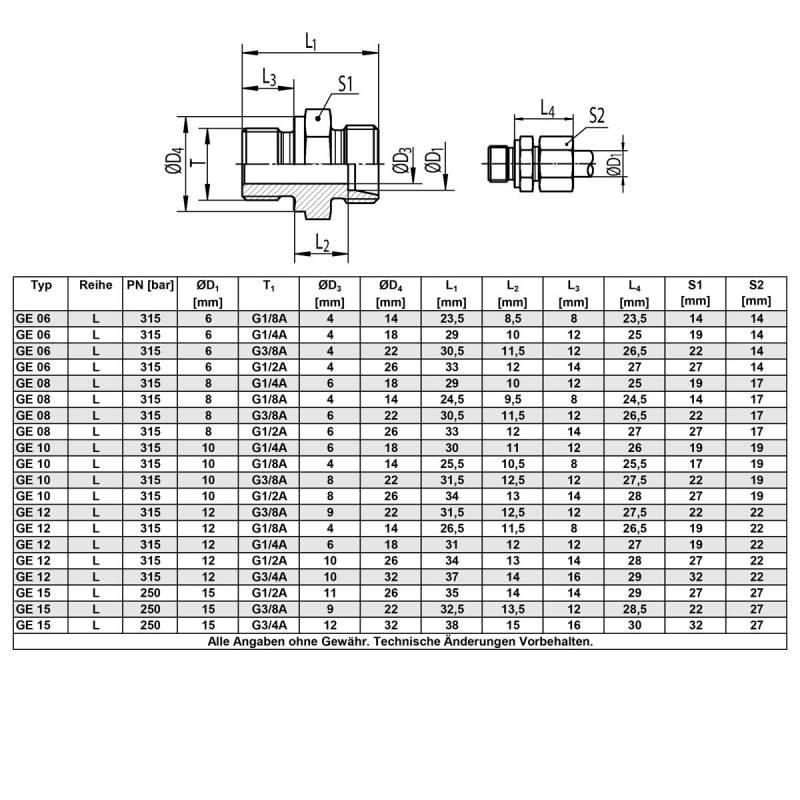 GE 16-SR 3/8