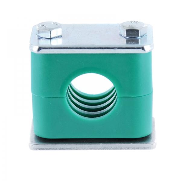 Favorit Hydraulik Rohrschelle - Schlauchschelle mit Anschweißplatte - 10 RK94