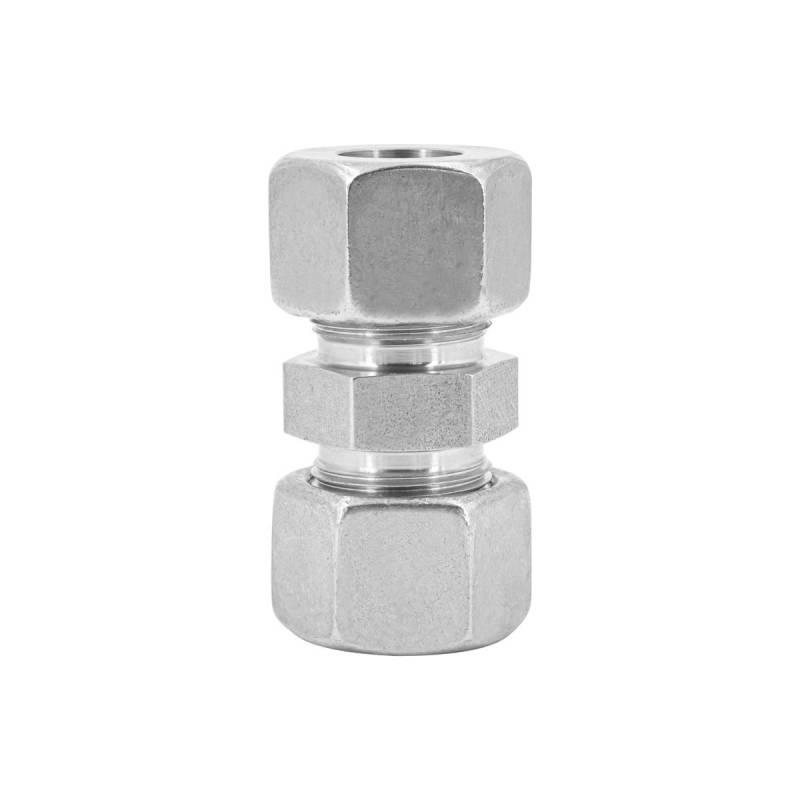 V4A Schneidringverschraubung aus Edelstahl - Gerade - G 8-L - 8 mm - 3