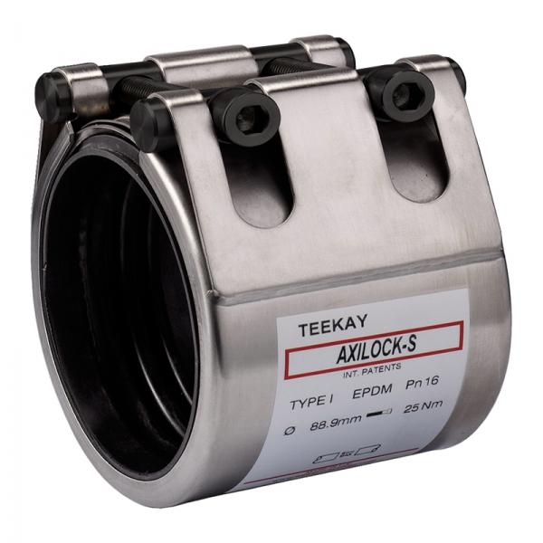 Teekay Axilock-S Rohrkupplung - Typ I Edelstahl - EPDM - 168,3 mm - 2