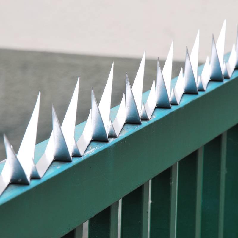 Wall Spikes - Mauerspitzen - Zaun Übersteigschutz - Stahl verzinkt - L: 1200 mm - 2