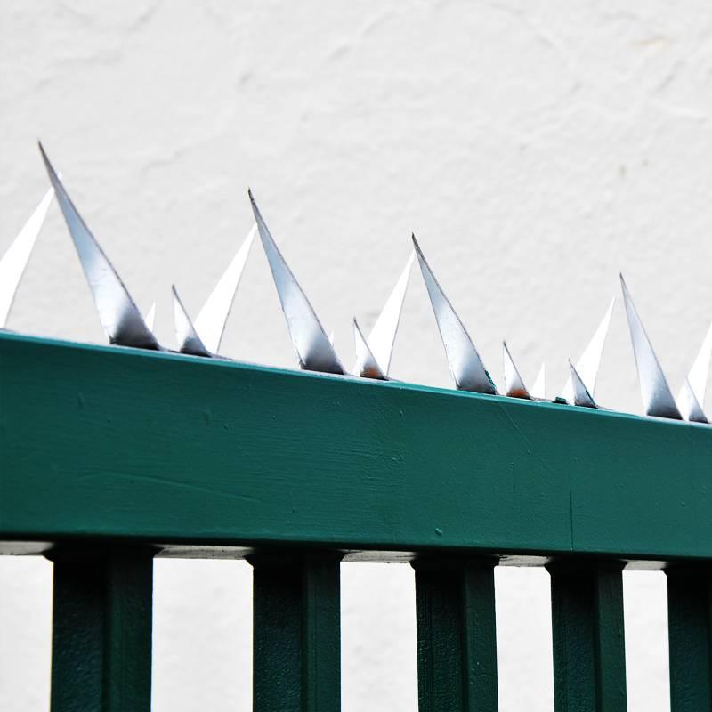 Wall Spikes - Mauerspitzen - Zaun Übersteigschutz - Stahl verzinkt - L: 1200 mm - 3