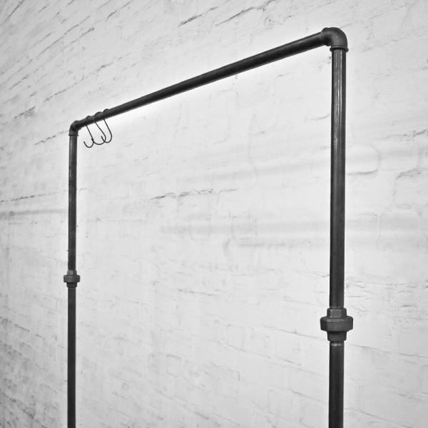 kleiderst nder kleiderstange garderobe metall stahl. Black Bedroom Furniture Sets. Home Design Ideas