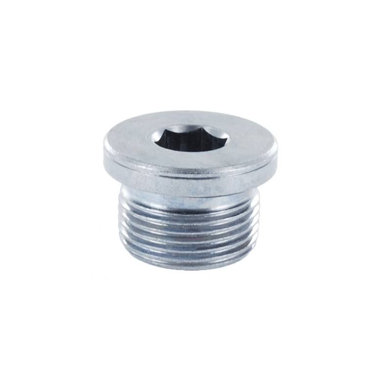 VSTI - M 22x1,5 WD - Stahl verz. - Verschluss-Stopfen - Rohrverschraubung DIN 2353 - 2