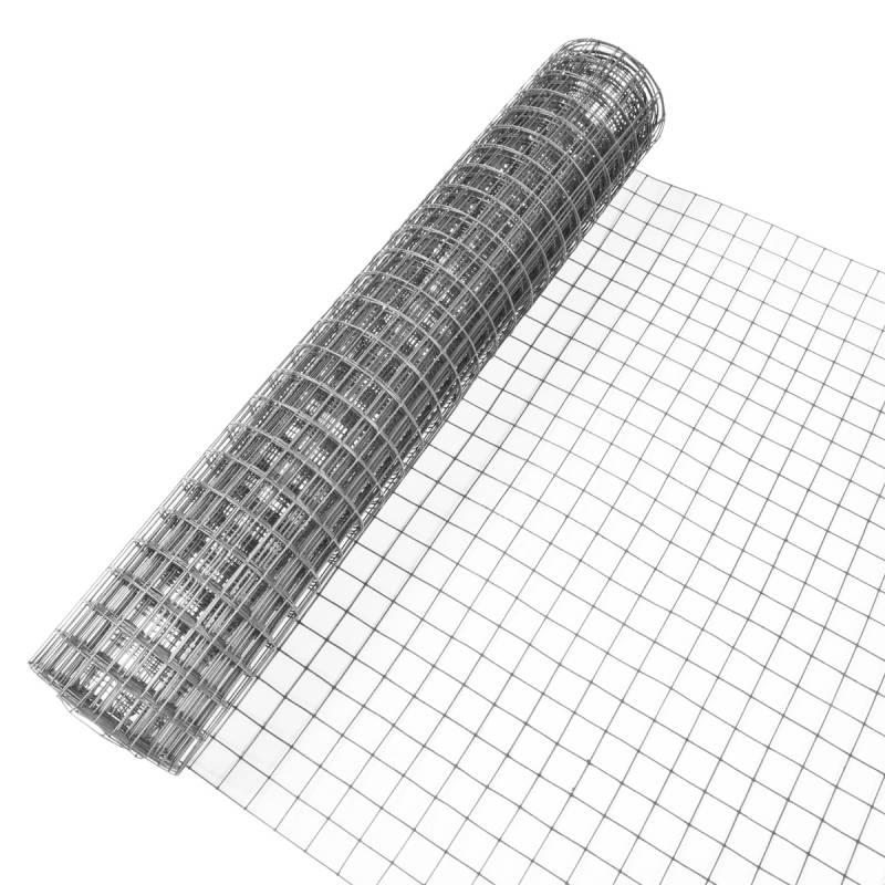 Indutec 4eck-Geflecht Drahtgitter - verzinkt - MW: 19,0mm | DS: 1,05mm | B: 1000mm | 5m Rolle - 2
