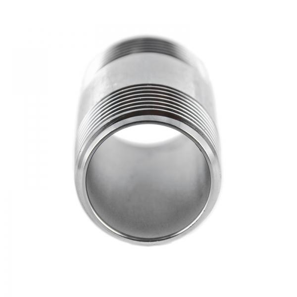 #310 V4A Rohrdoppelnippel aus Edelstahl - 1/8